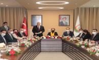 Yeni Bakan Yanık'tan büyükşehir belediyesine ziyaret