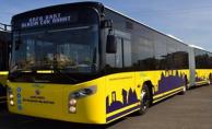 Urfa#039;daki yoğun otobüs hattına ek sefer