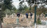 Urfada mezarlıkta bebek cesedi bulundu!