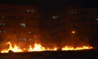 Urfa'da yangın yerleşim alanında korkuya neden oldu