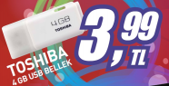 4GB Flash Bellek:3.99TL