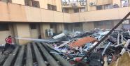 500 yataklı hastanede yangın
