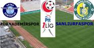 Adana Demirspor 1-0 Şanlıurfaspor
