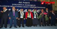AK Parti adayları Nebati öncülüğünde...