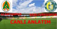 Alanyaspor 4-0 Şanlıurfaspor