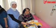 Annelere hastane çıkış seti dağıtıldı