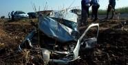 Aşırı Hız sonucu Kaza; 4 yaralı