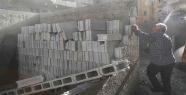 Bağlarbaşı'daki ev yıkıldı