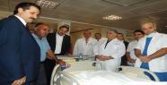 Bakan Çelik, Yaralı  Hastaları Ziyaret Etti
