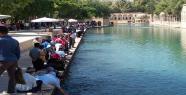 Balıklıgöl'de bayram yoğunluğu