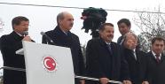 Davutoğlu Kobanili Sığınmacıları Ziyaret Etti