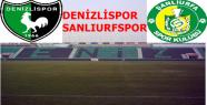 DENİZLİSPOR SANLIURFSPOR