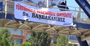 Erdoğan'a Afişli Destek