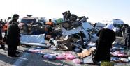 Feci  trafik kazası, 11 ölü, 4 yaralı