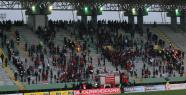 Gaziantep Seyircileri Stadı Ateşe Verdi