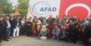 Göç heyeti Suriyeli misafirleri ziyaret etti