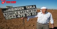 Harranlı çiftçiler tarlalarını satıyor!