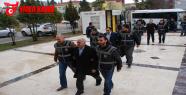 Polisler adliye'ye sevk edildi