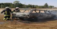 Şanlıurfa'da araç yangını korkuttu