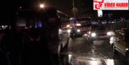 Seyir halindeki otobüste yangın