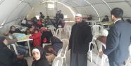 Suriye'den kaçan Türkmenler çadır kentte...