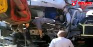 Tarım işçileri taşıyan kamyon kaza yaptı: 2 ölü, 5 yaralı