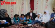 Çitçi, Konteynerlerde Suriyeli Sığınmacılara Ziyaret