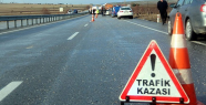 Urfa Otobanında kaza 1 ölü 4 yaralı