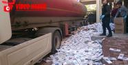 Urfa'da 207 paket kaçak sigara ele geçirildi