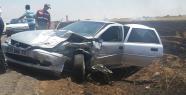 Urfa'da anız yangını zincirleme kazaya neden oldu