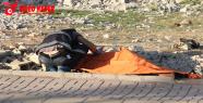 Urfa'da boş arazide atılmış kadın...
