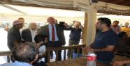 Urfa'da CHP heyeti tepki gördü