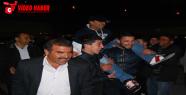 Urfa'da davullu zurnalı asker uğurlaması