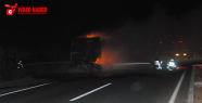 Urfa'da korkutan tır yangını