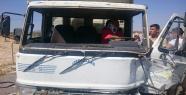 Urfa'da otoban  gişelerinde kaza