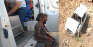 Urfa'da otomobil şarampole uçtu, 4 yaralı