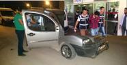 Urfa'da polis kaçan aracı yakaladı