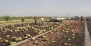 Urfa'da trafik kazası, 1 ölü, 4 yaralı