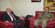 Vali Tuna Yeni Tugay Komutanını Kabul Etti
