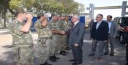 Vali Tuna'dan Yeni Tugay Komutanını Ziyaret Etti