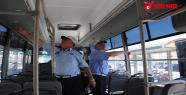 Zabıta, Halk Otobüs Klimalarını denetledi
