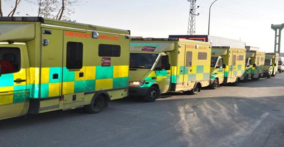 Tıbbi Malzeme Yardım Konvoyu Suriyeye Ulaştı