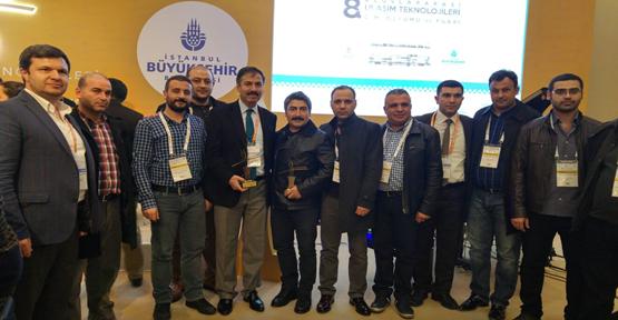 Transist 2015 Hizmet Kalitesi Ödülü Şanlıurfa'nın