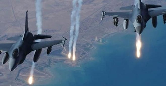 Türk savaş uçakları Suriye'de PYD'yi vurdu!