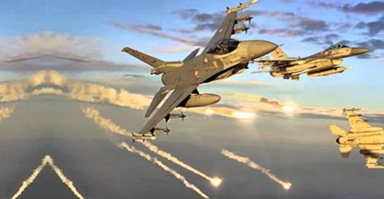 Türk uçakları YPG hedeflerini vurdu