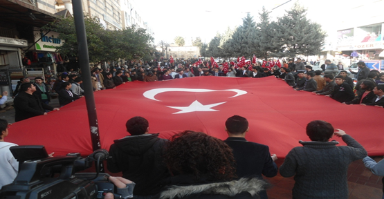 Ülkü Ocakları İstiklal Marşını 92. Yılında Andı