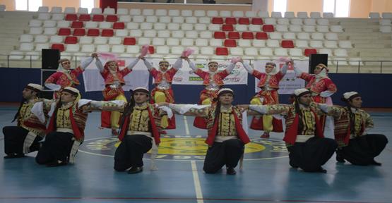 Üniv. halk oyunları yarışması Şanlıurfa'da başladı