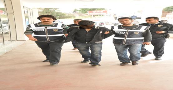 Üniversite Gaspçısı Tutuklandı