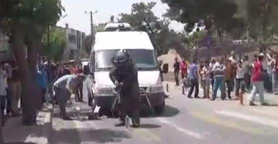 Urfa askeriye önünde şüpheli paket