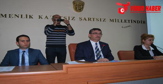 Urfa'da Büyükşehir statüsünde ilk meclis